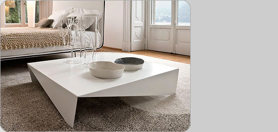 ItaDe.co.uk Voila painted stell coffee table