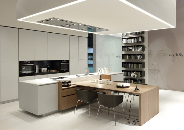 Alea kitchen by varenna poliform itade co uk - Poliform showroom ...