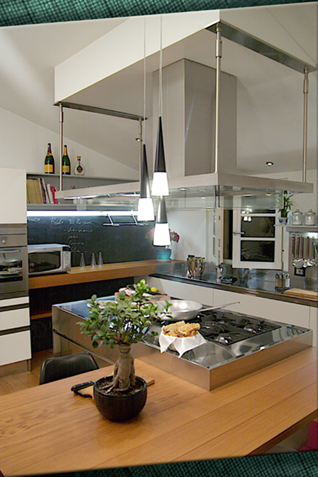 Kitchen in Lucca, Tuscany