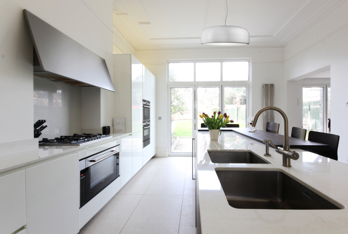 Completed Project Italian Kitchen In London Se24 10 Itade Co Uk