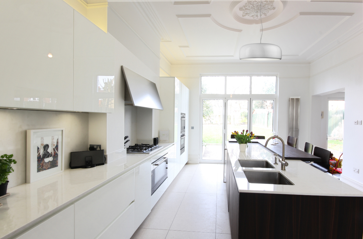 Completed Project Italian Kitchen In London Se24 12 Itade Co Uk