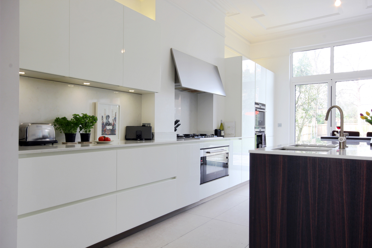 Completed Project Italian Kitchen In London Se24 3 Itade Co Uk