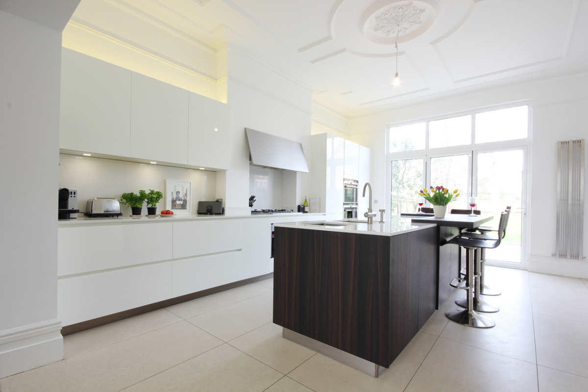 Completed Project Italian Kitchen In London Se24 4 Itade Co Uk