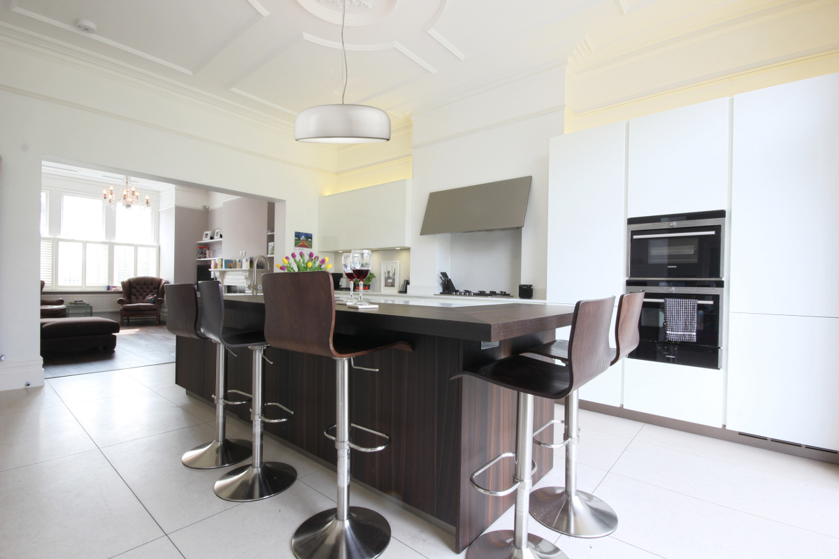 Completed Project Italian Kitchen In London Se24 7 Itade Co Uk