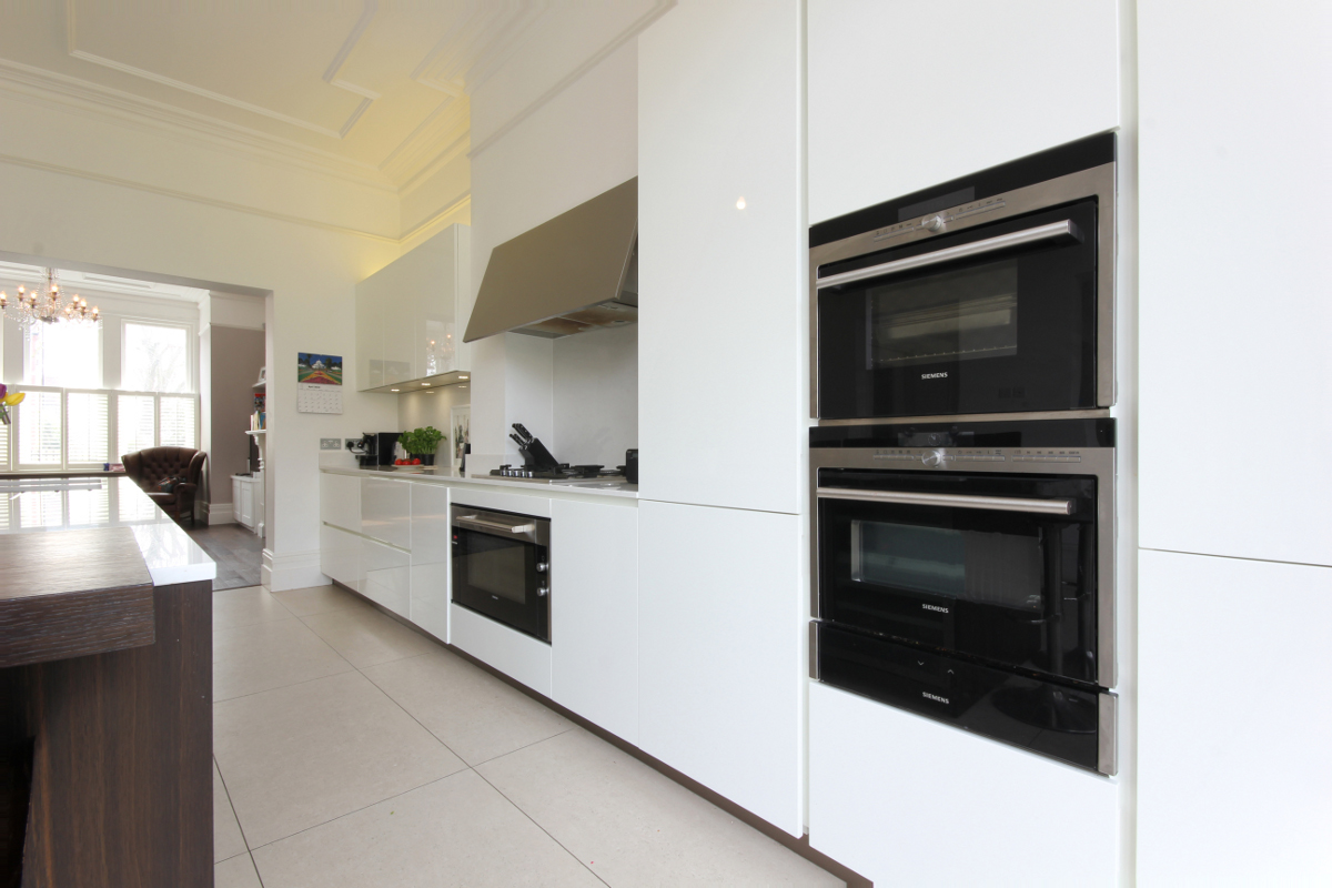 Completed Project Italian Kitchen In London Se24 8 Itade Co Uk