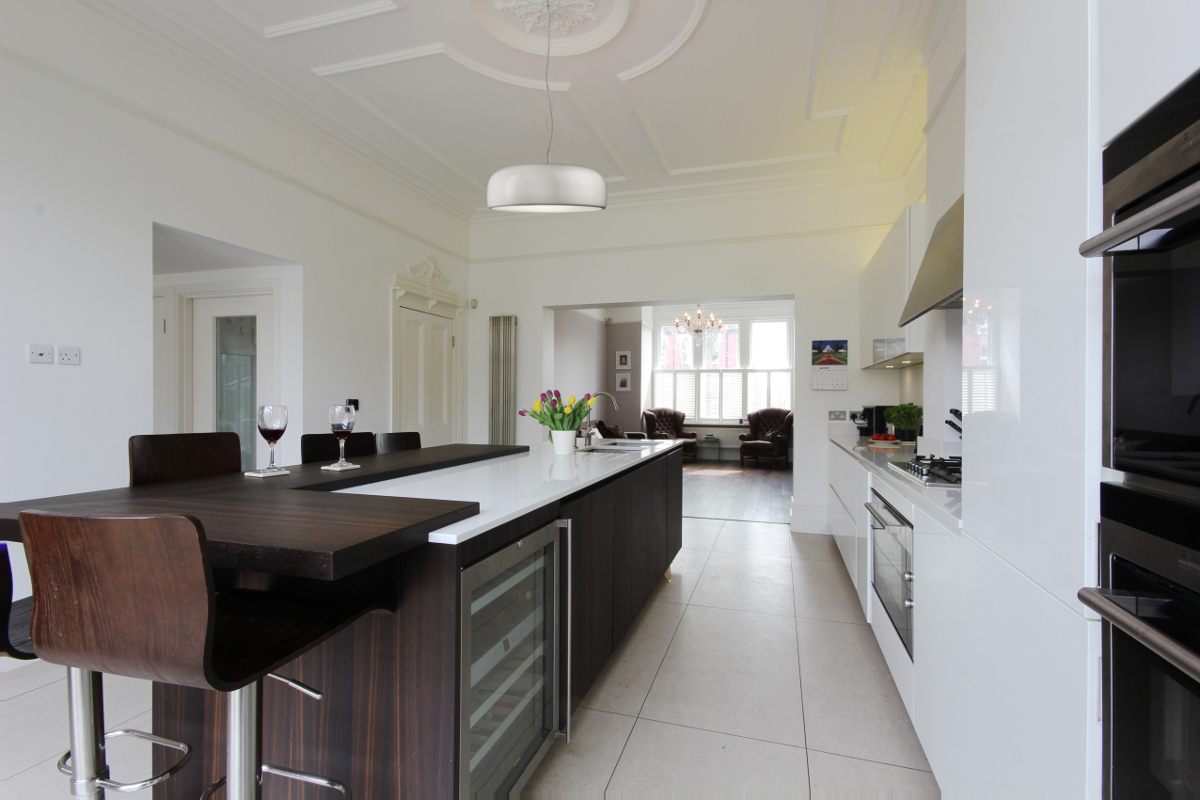 Completed Project Italian Kitchen In London Se24 9 Itade Co Uk